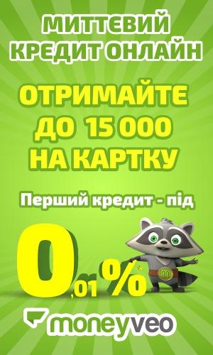 Moneyveo - кредит акция